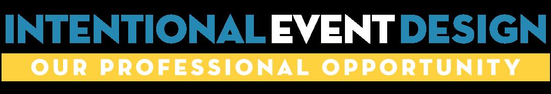 Intentional Event Design