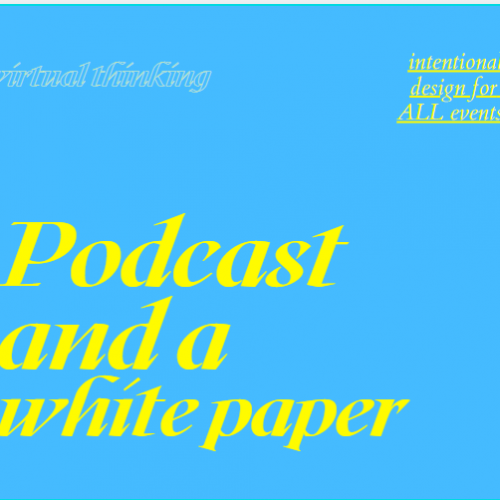 A podcast, a brief and a white paper